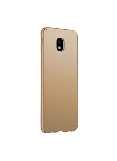 Microsonic Samsung Galaxy J3 Pro Kılıf Premium Slim Gold Altın